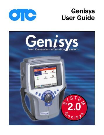 Genisys User Guide - OTC