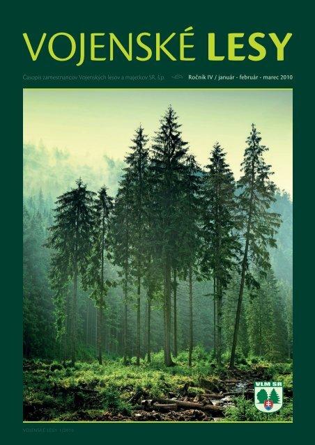 Vojenské lesy 1/2010
