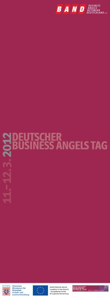 DEUTSCHER BUSINESS ANGELS TAG O