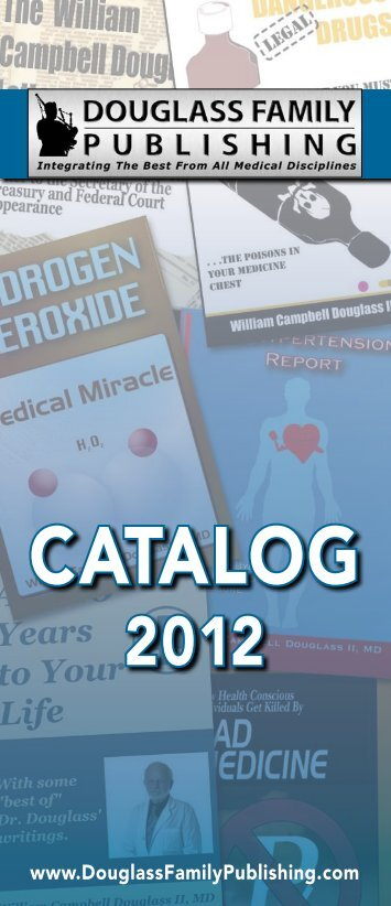 Douglass Family Publishing 2012 Catalog