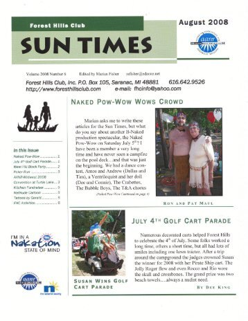 ~ SUN TIME - Forest Hills Nudist Club