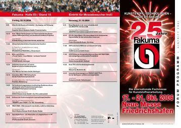 17. – 21. Okt. 2006 - Schall Kongress GmbH
