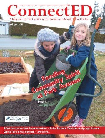 Feeding Community Spirit at Park Avenue - SD68 School District ...