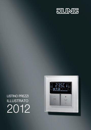 Listino Prezzi Illustrato 2012 Download PDF 11,15 - JUNG