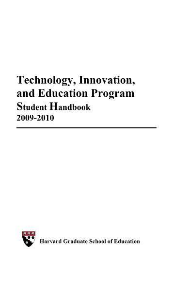 harvard graduate school of education case studies