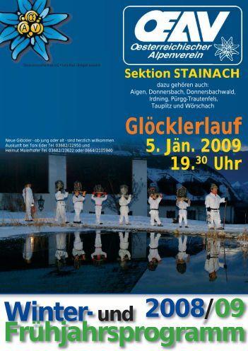 Bergtouren 2008 - Geomix.at