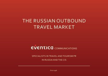 THE RUSSIAN OUTBOUND TRAVEL MARKET - eventica