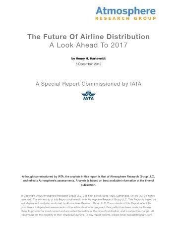 The Future Of Airline Distribution - IATA