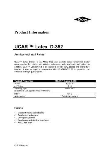 dow ucar latex