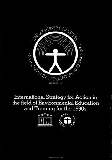 International strategy for action in the field of en - unesdoc - Unesco