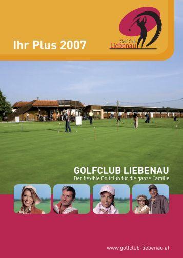 Ihr Plus 2007 - Golf Club Liebenau