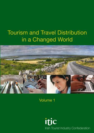 tourism and travel distribution Tourism's distribution system ranges from direct sales at ticket counters and branch offices, to intermediaries and middlemen located online or in major cities, destinations, and gateways.