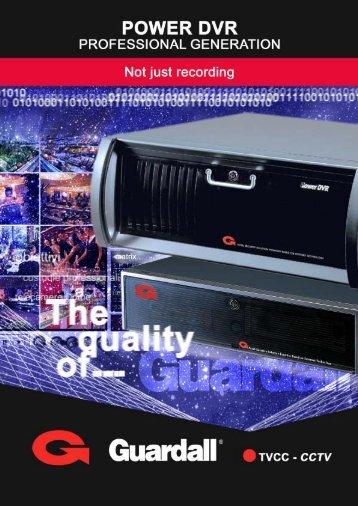 Catalogo POWER DVR GB