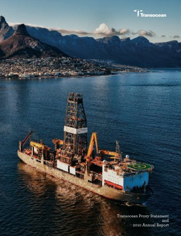 Transocean Proxy Statement and 2010 Annual Report