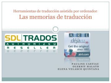 Las memorias de traducción
