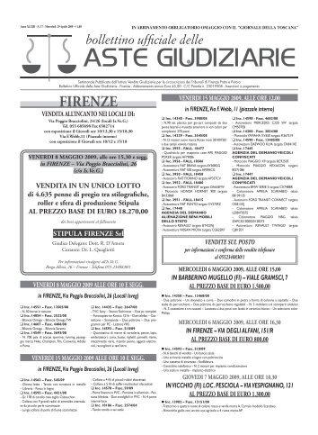 ASTE GIUDIZIARIE - ISVEG Istituto Vendite Giudiziarie