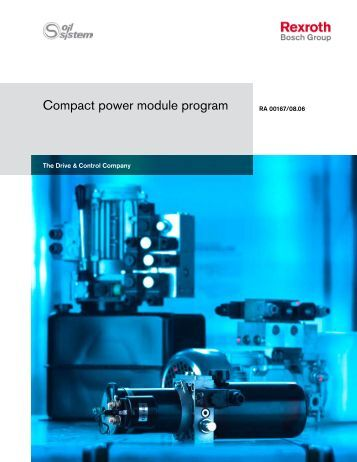 Compact power pack program - Bosch Rexroth