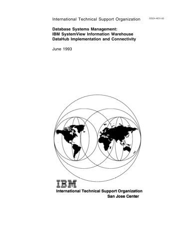 International Technical Support Organization Database Systems ...
