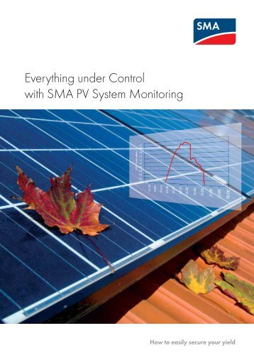 Everything under Control with SMA PV System Monitoring - B.d.t.