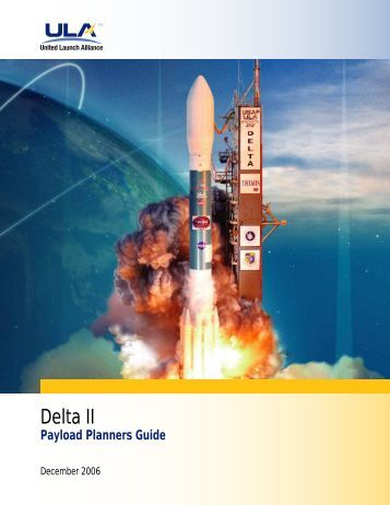 Delta II Payload Planners Guide - United Launch Alliance