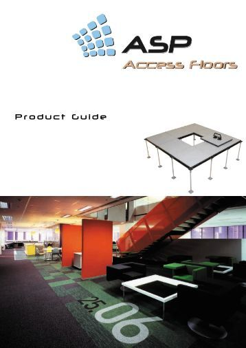 Product Guide - ASP Access Floors