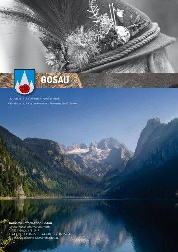 Tourismusinformation Gosau - Dachstein Salzkammergut