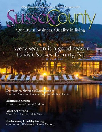 Sussex County Magazine - a collection of 34 editions from 1948-1956