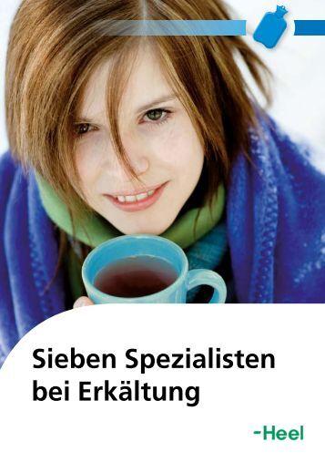 Sieben Spezialisten bei Erkältung - Biologische Heilmittel Heel GmbH