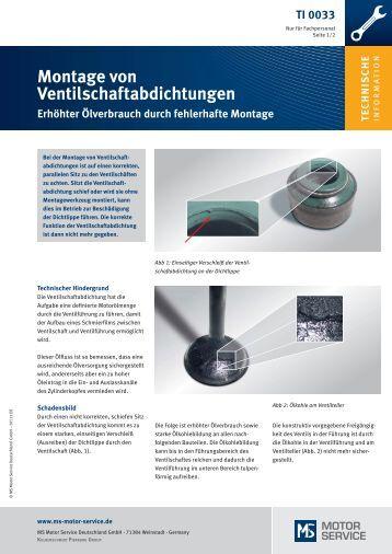 TI 0033 - MS Motor Service Deutschland GmbH
