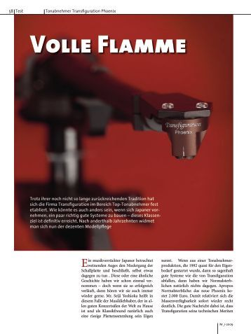 Volle Flamme