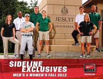 sideline exclusives men's & women's fall 2012 - Nike Team Sports