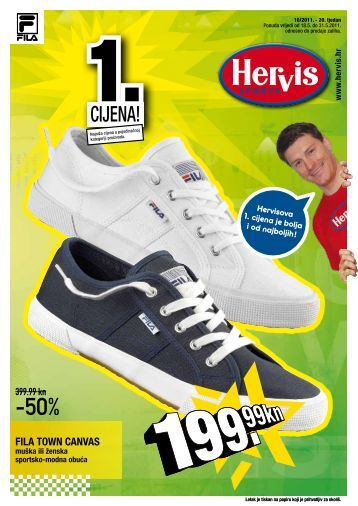 FILA TOWN CANVAS - Hervis