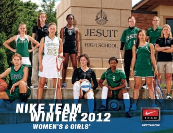 nike team winter 2012 women's & girls' - LIDS Team Sports