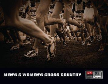 MEN'S & WOMEN'S CROSS COUNTRY - Nike Team Sports