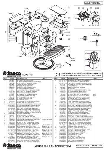 E74082 rev.08 (Saeco Incanto S-Class SUP021YBDR).indd