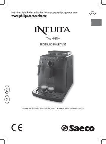 pflegetipps philips saeco kaffeevollautomaten. Black Bedroom Furniture Sets. Home Design Ideas