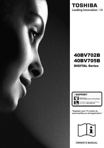User Manual - UK - Toshiba