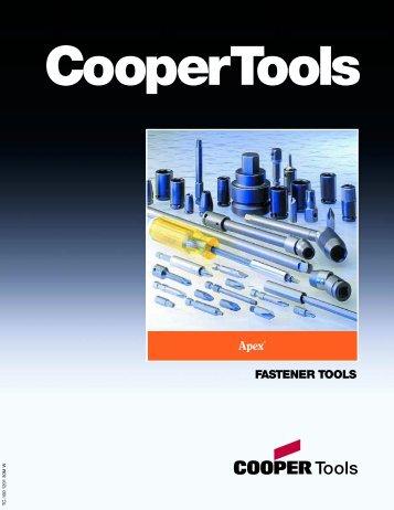 Apex Fastener Tools Catalog (English)