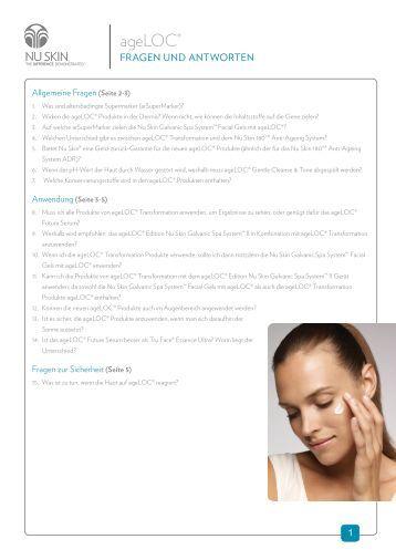 Nu Skin Galvanic Spa System Ii Body Shaping Gel