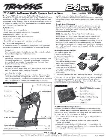 4910 Manual / Operating Instructions (T-Maxx with Pro