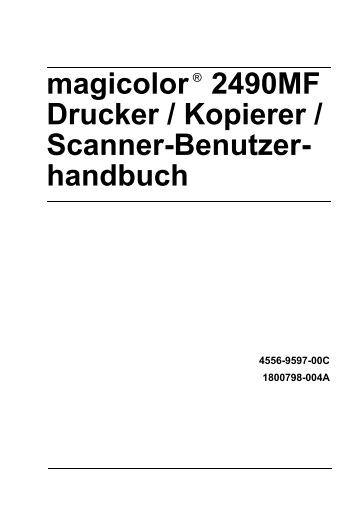 bizhub C20 Drucker / Kopierer / Scanner-Benutzer- handbuch
