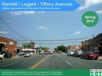 Randall / Leggett / Tiffany Avenues - NYC.gov