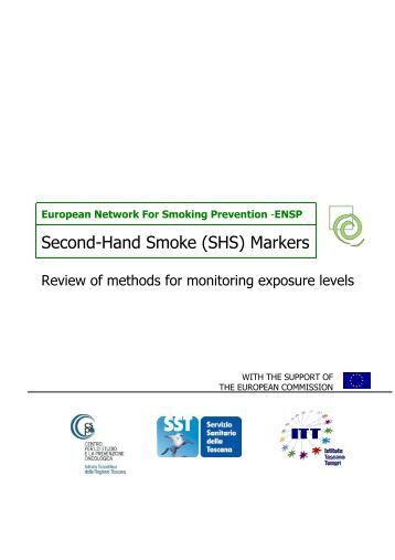 (SHS) Markers - European Network for Smoking Prevention