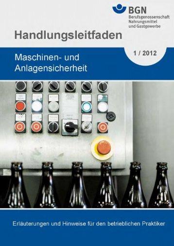 Handlungsleitfaden Maschinen - Deutsche Gesetzliche ...