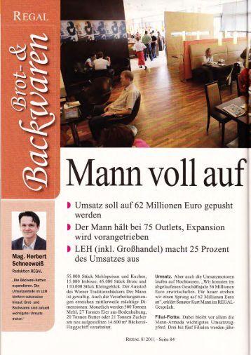 ) Umsatz soll auf 62 Millionen Euro gepusht - Der Mann