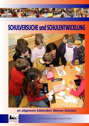 Schulversuchsbroschüre 2009/2010 - Referat für Schulversuche ...