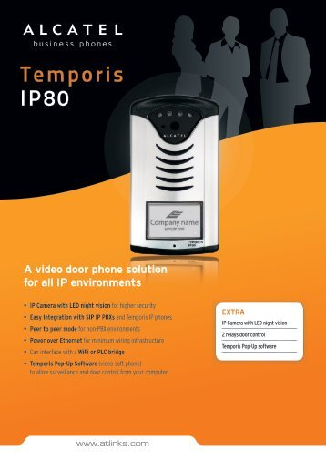 A video door phone solution for all IP environments - Omnis Systems