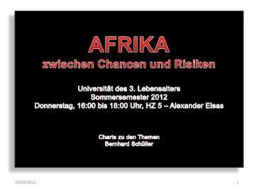 Bernhard Schüller: Kompendium Afrika