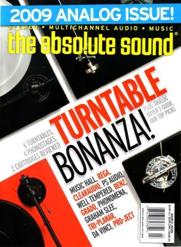In the may/june edition of the absolute sound