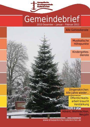 Ich nehme mir Zeit - Evangelischen Kirchengemeinde Rodenkirchen